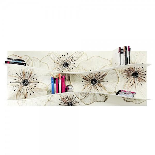 Декоративна етажерка за книги, LIBRERIA PETUNIA от Pintdecor