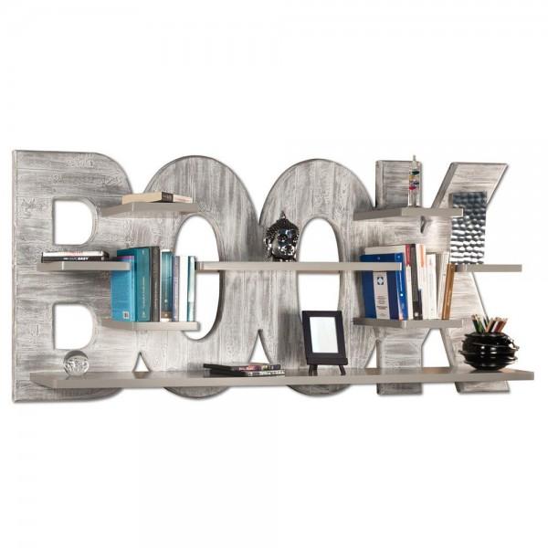 Декоративна етажерка за книги, SHABBY BOOK от Pintdecor