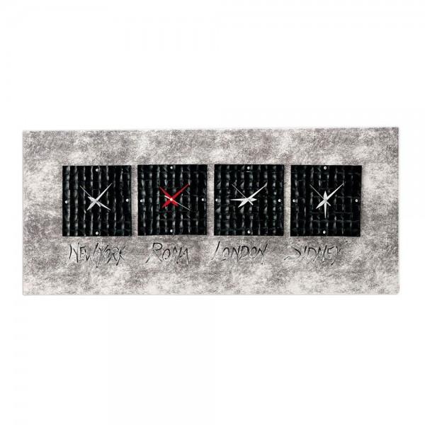 NEROLOSI - Часовник за стена, ръчно декорирани керамични елементи