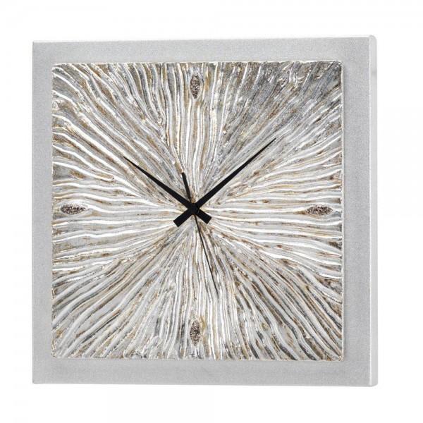 FOSSILE - Релефен стенен часовник, керамични елементи