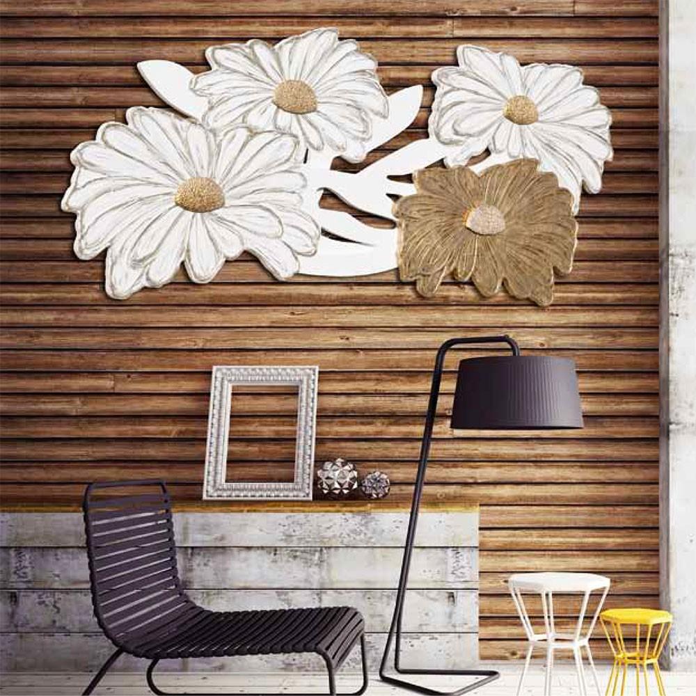 Декоративнo панo за стена, MARGHERITE BIANCHE от Pintdecor