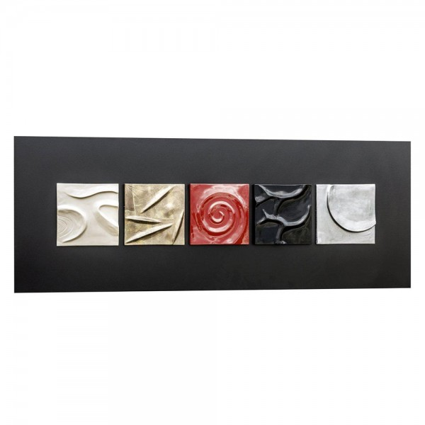 MOMA - Италианско пано с релефни керамични орнаменти