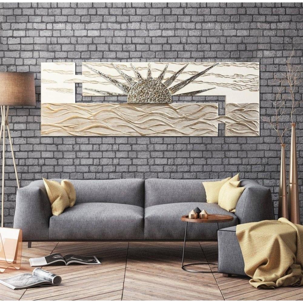 Италианско пано с релефни орнаменти, ALBA SUL MARE от Pintdecor