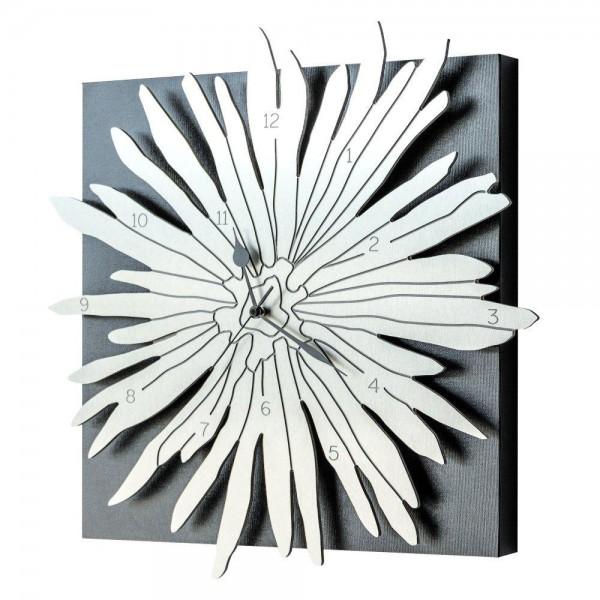 POLINESIA - Дизайнерски стенен часовник, алуминиеви елементи