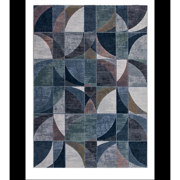 Италиански килим с геометрични шарки, LAGUNA 63650/6656