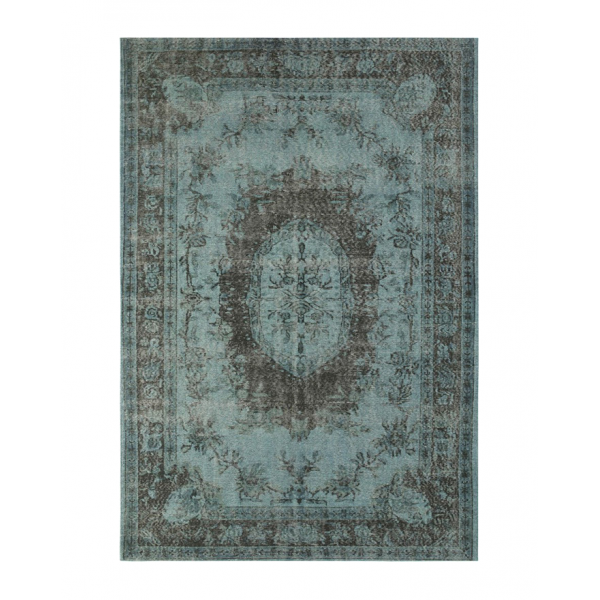 Килим с класически дизайн и избледняващ ефект, SICILY PRAIA BLUE