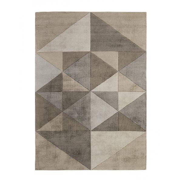 Съвременен италиански килим, TRIANGLES BEIGE