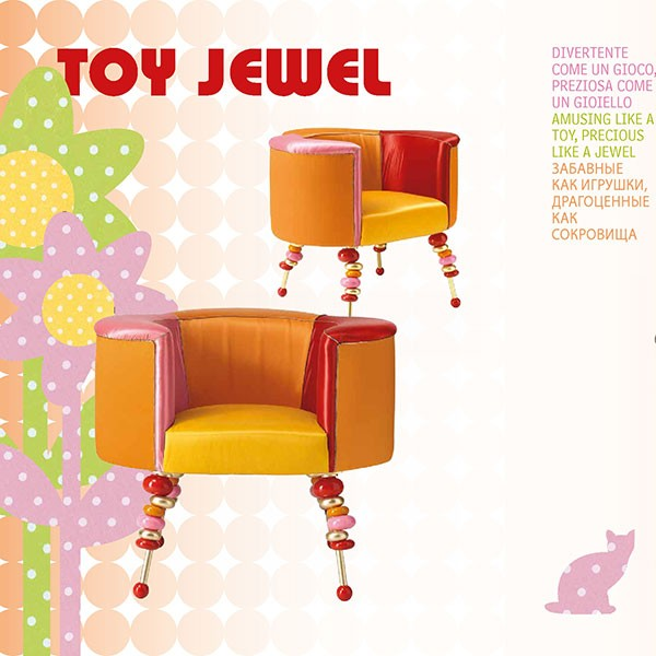 Altamoda - Кресло TOY JEWEL