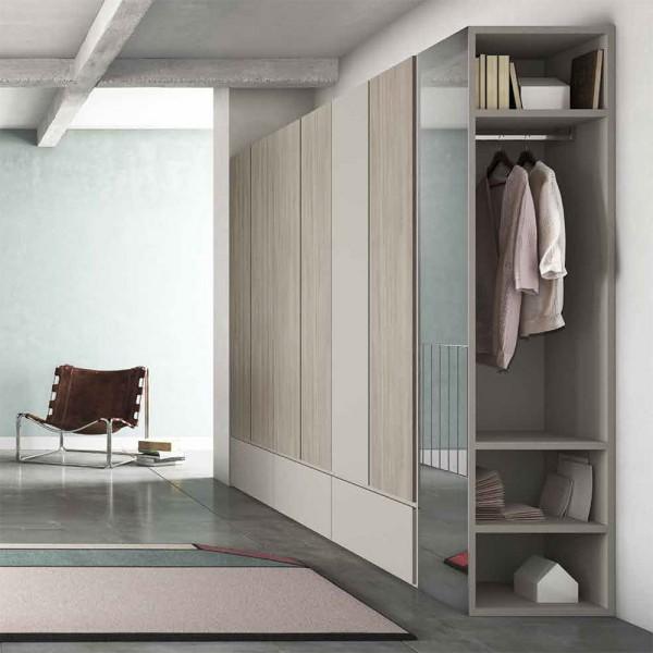 FIL - Модерен гардероб с врати на панти от Orme Design
