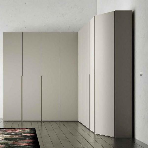 FILO120 - Модерен гардероб с врати на панти от Orme Design