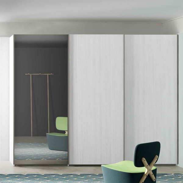 LISCIA - Модерен гардероб с огледало от Orme Design