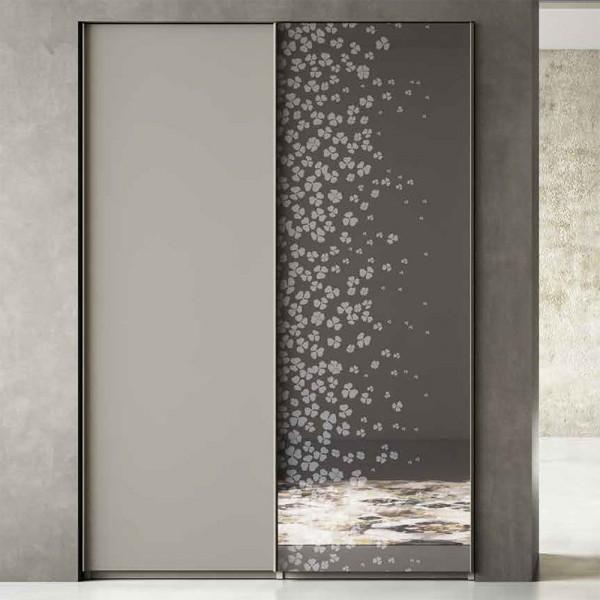 LISCIA - Италиански гардероб със стъклени врати
