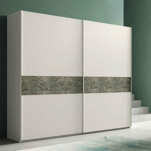 MULTI - Модерен гардероб с декоративен елемент на вратите от Orme Design