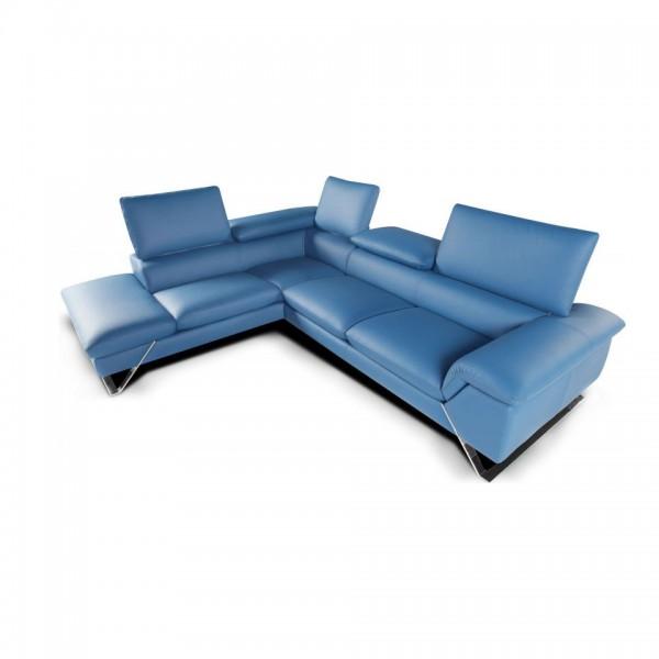 D.335 - Модерен италиански диван от естествена кожа