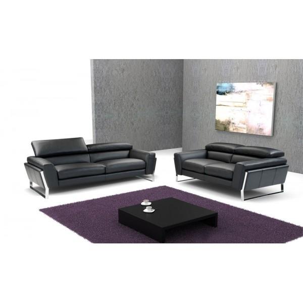 798 - Италианска кожена мека мебел