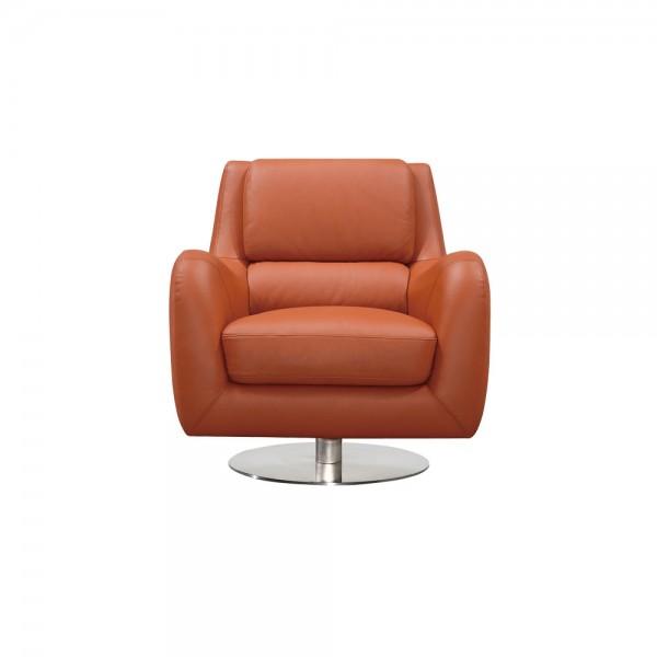 Q.882 - Модерно кожено кресло. Интериорен акцент за всекидневна