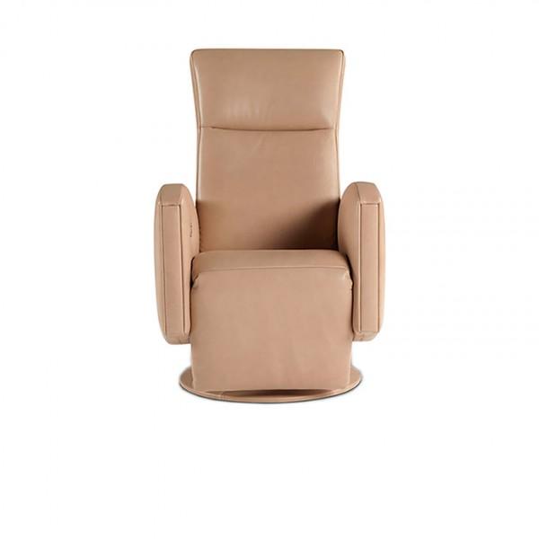 897 - Модерно кожено кресло с електрически реклайнер
