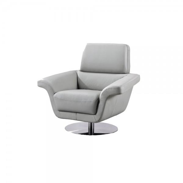 935 - Модерно италианско кожено кресло