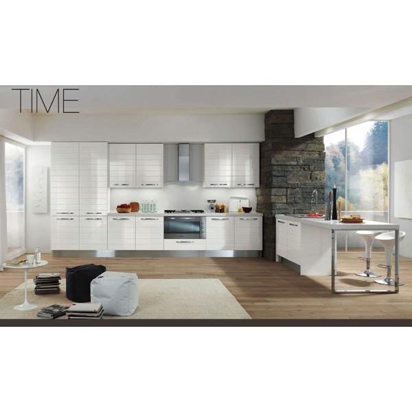 Модел TIME - Гланц бяло J01
