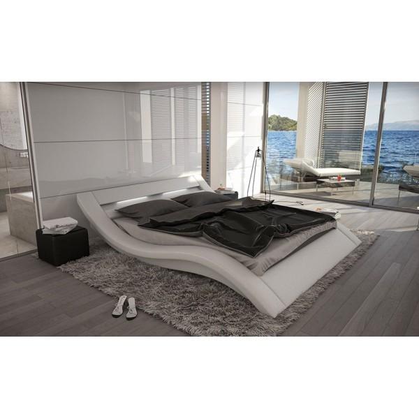 J223 - Модерна кожена спалня