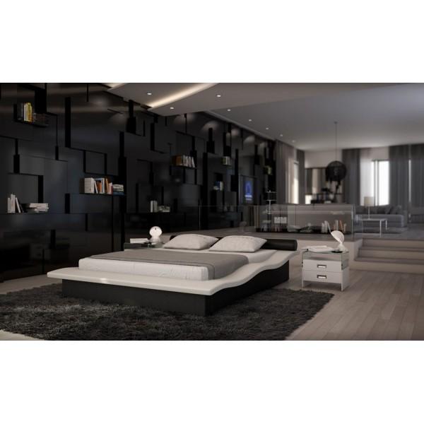 J235 - Кожена спалня в модерен стил