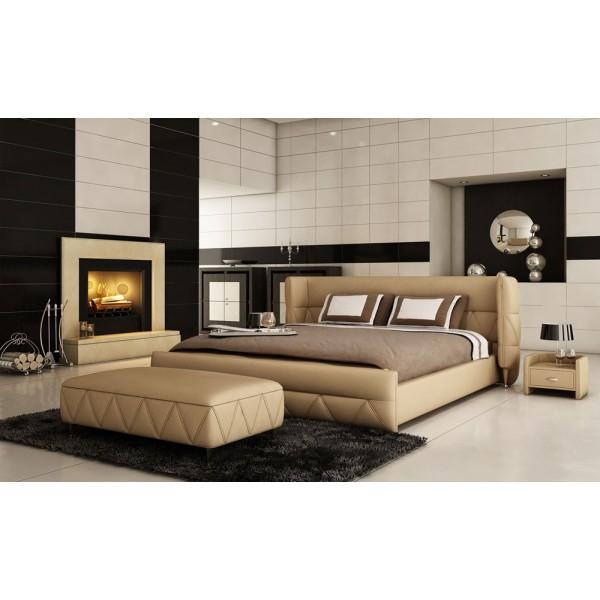 B1310 - Модерна италианска кожена спалня