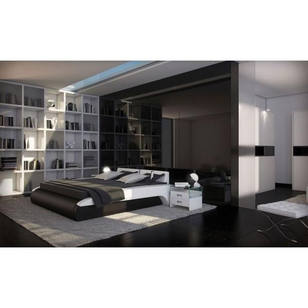 TRANI - Кожена спалня с модерен дизайн