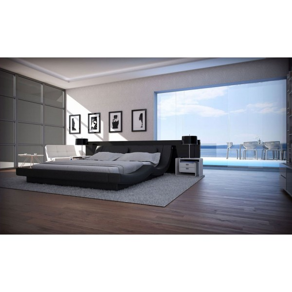 ANDRIA - Модерна спалня с кожена тапицерия