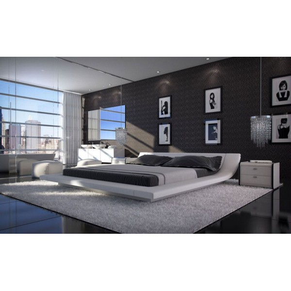 TRIESTE - Модерна кожена спалня