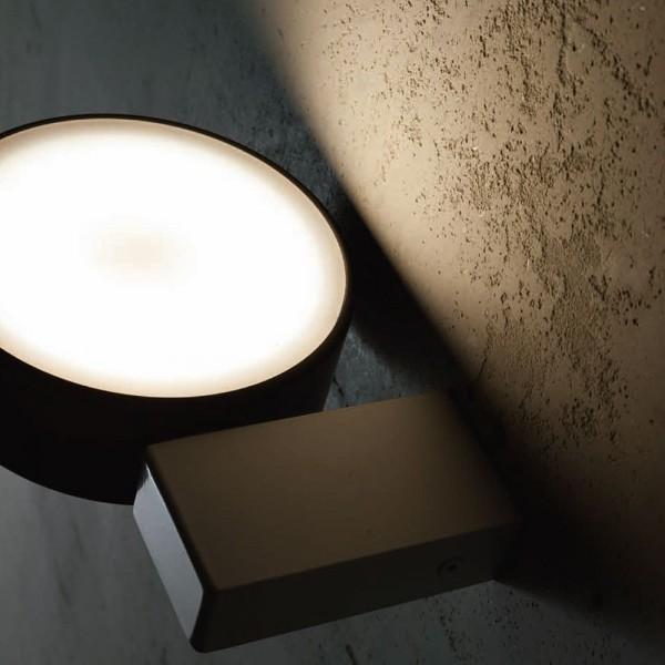 W.AP 1L - Модерен аплик / плафон LED осветление, серия ALULED disc от 'LIGHT 4'