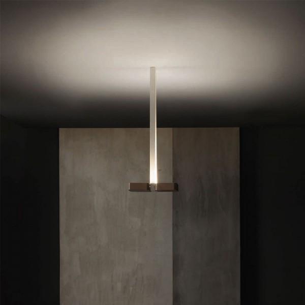 W.PL 30 1L - Италиански плафон. LED насочено осветление за таван, серия ALULED square от 'LIGHT 4'