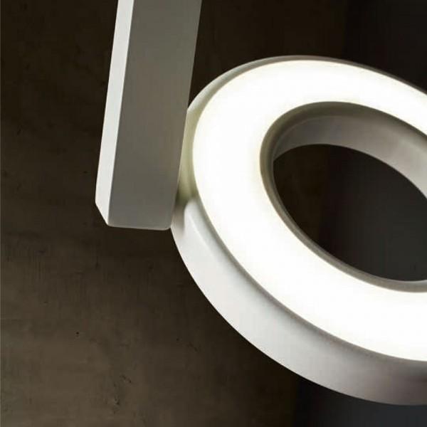 W.PL 30 1L - LED Модерно осветление за монтаж на таван, серия ALULED ring от 'LIGHT 4'