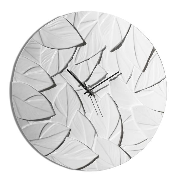 Стенен часовник с модерна визия, SCRAPPY Grigio Avorio