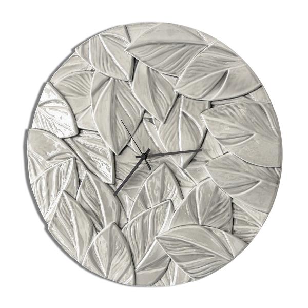Модерен стенен часовник, SCRAPPY - Grigio Perla