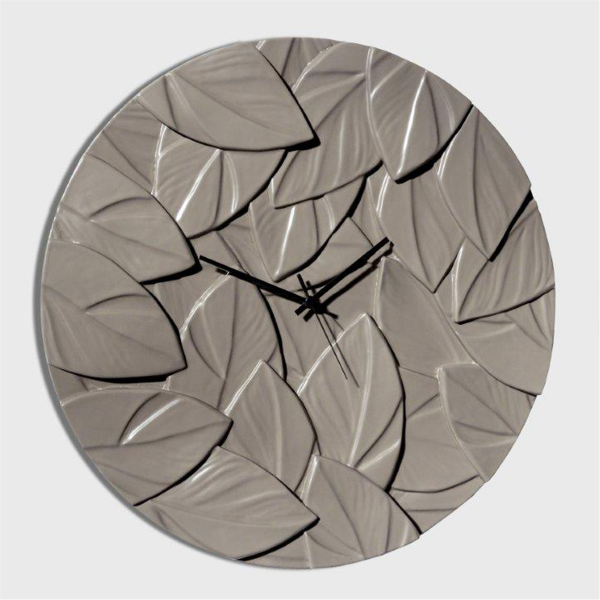 Стенен часовник с модерна визия , SCRAPPY Grigio Fango