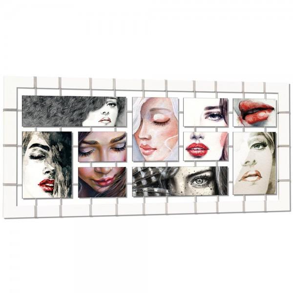 FLEETING FACES - Дизайнерско пано, с гланцов ефект