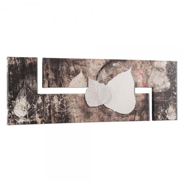 AUTUNNO IN BAVIERA - Ръчно декорирано пано с акценти в сребристо