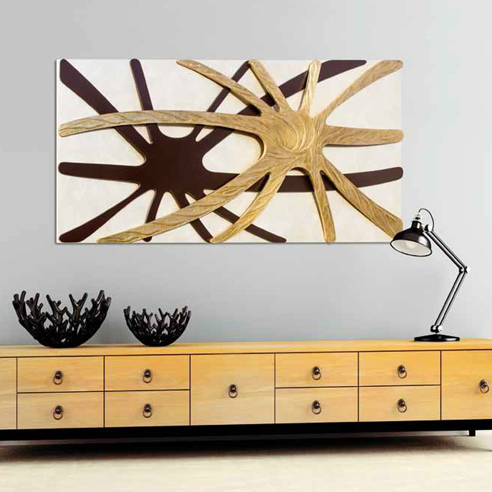 Модерно пано за стена, SPIDER NACRE от Pintdecor