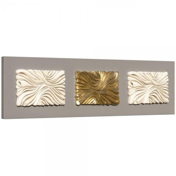 DRAPERIE - Пано за стена с керамични елементи в златисто
