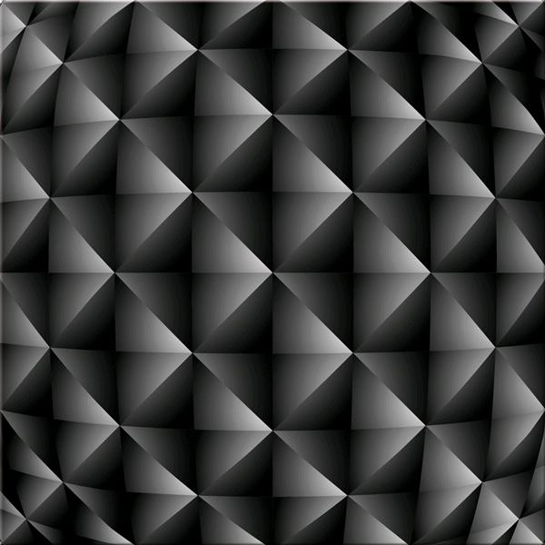 Модерна 3D принт картина, MAT NERO от Pintdecor