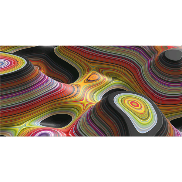 STRATIFICAZIONI - Дизайнерска 3D принт картина