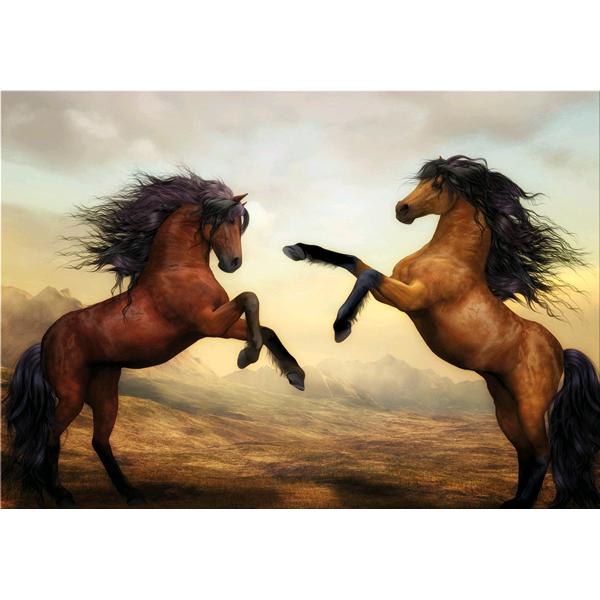 Модерна принт картина , DESTRIERI от Pintdecor
