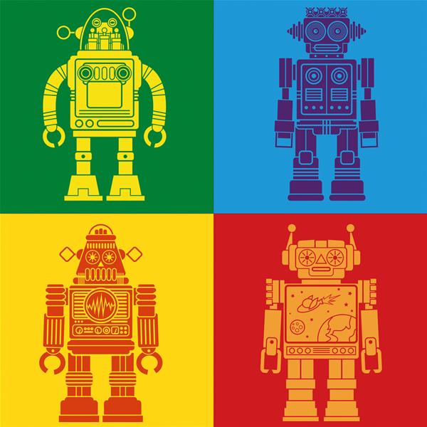 ROBOT - Съвременна принт картина