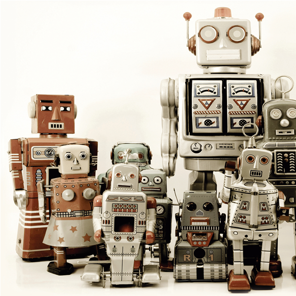 ROBOT 2 - Италианска принт картина