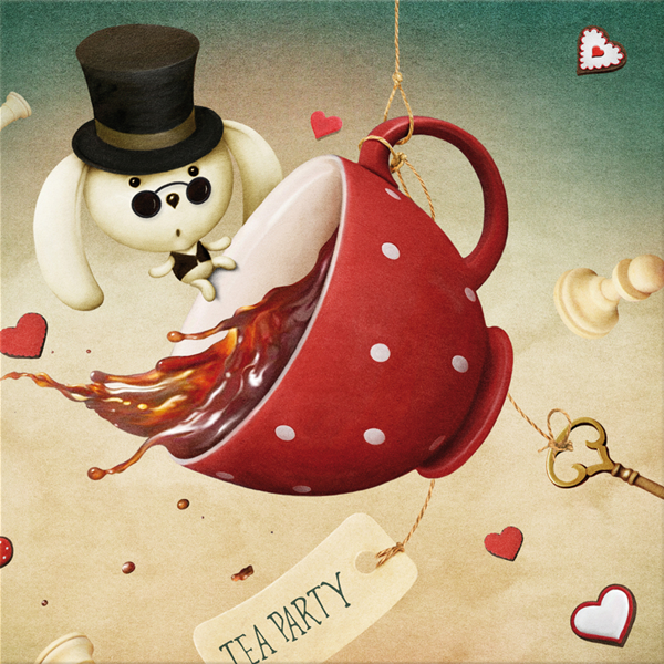 TEA PARTY - Дизайнерска принт картина