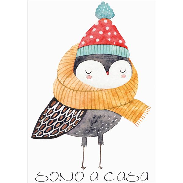 SONO A CASA - Дизайнерска принт картина