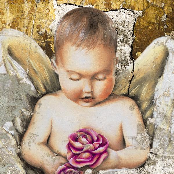 UNA ROSA dal PARADISO - Фото принт картина за стена