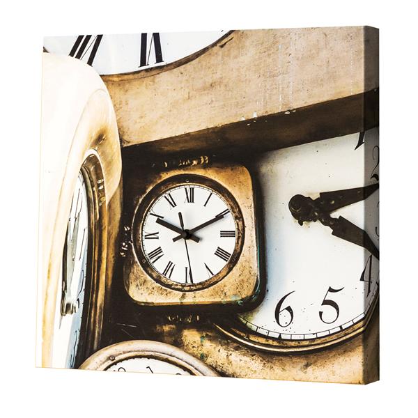 Модерен стенен принт часовник, IN MOVIMENTO от Pintdecor