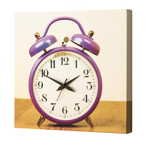 Модерен стенен принт часовник, SVEGLIA! от Pintdecor
