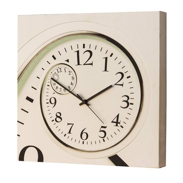 Модерен стенен принт часовник, LA SPIRALE от Pintdecor